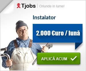 Locuri de munca in UK – instalator